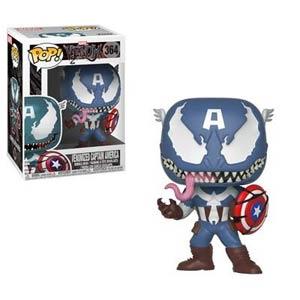 POP Marvel 364 Marvel Venom Venomized Captain America Vinyl Bobble Head
