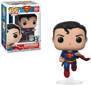 POP Heroes 251 Superman Flying Superman 80th Anniversary Vinyl Figure