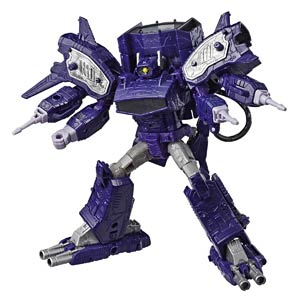 Transformers Generations War For Cybertron Leader Class Shockwave Action Figure