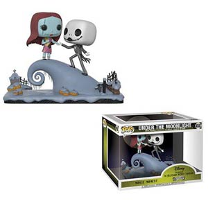 POP Disney 458 Movie Moments Nightmare Before Christmas Jack & Sally Under The Moonlight Vinyl Figur