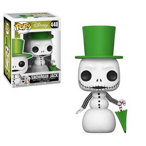 POP Disney 448 Nightmare Before Christmas Snowman Jack Vinyl Figure