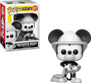 POP Disney 427 Mickeys 90th Anniversary Firefighter Mickey Vinyl Figure