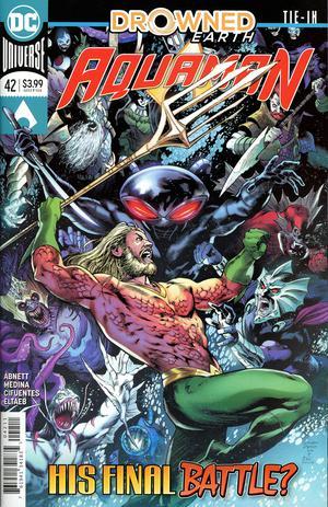 Aquaman Vol 6 #42 Cover A Regular Eduardo Pansica Cover (Drowned Earth Tie-In)
