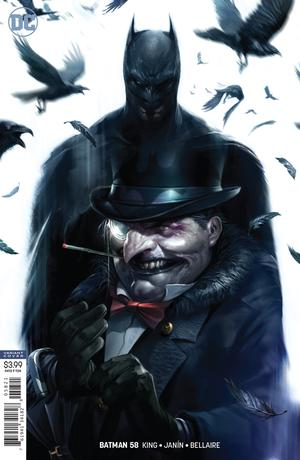 Batman Vol 3 #58 Cover B Variant Francesco Mattina Cover