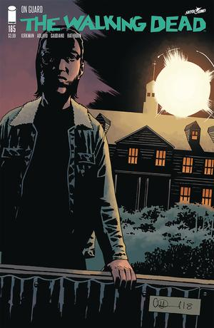 Walking Dead #185 Cover A Regular Charlie Adlard & Dave Stewart Cover