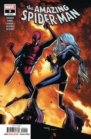 Amazing Spider-Man Vol 5 #9 Cover A 1st Ptg Regular Humberto Ramos Cover