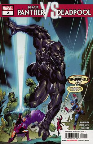 Black Panther vs Deadpool #2 Cover A Regular Ryan Benjamin Cover