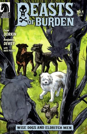 Beasts Of Burden Wise Dogs And Eldritch Men #4 Cover B Variant Jill Thompson Cover