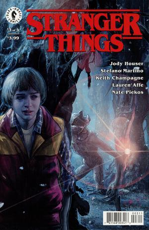 Stranger Things #3 Cover A Regular Aleksi Briclot Cover