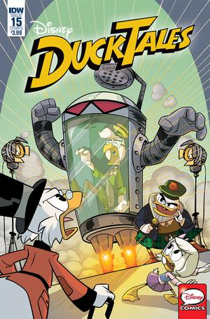Ducktales Vol 4 #15 Cover B Variant Marco Ghiglione Cover