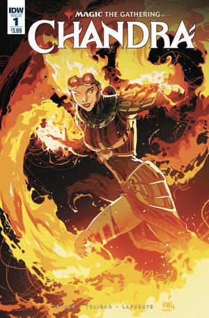 Magic The Gathering Chandra #1 Cover A Regular Ken Lashley Cover