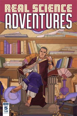 Real Science Adventures Nicodemus Job #5 Cover A Regular Meredith McClaren Cover