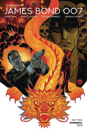 James Bond 007 #1 Cover A Regular Dave Johnson Cover