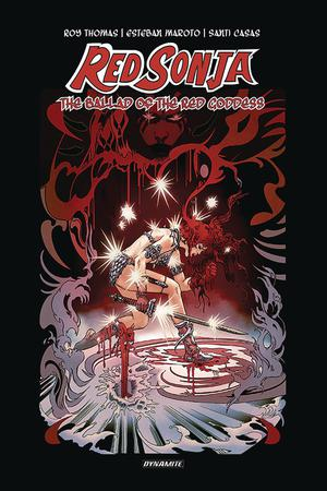 Red Sonja Ballad Of The Red Goddess HC Signed Edition By Roy Thomas