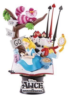 Alice In Wonderland DS-010 Dream-Select Series Previews Exclusive 6-Inch Statue