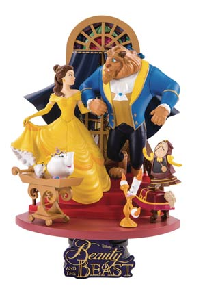 Beauty And The Beast DS-011 Dream-Select Series Previews Exclusive 6-Inch Statue