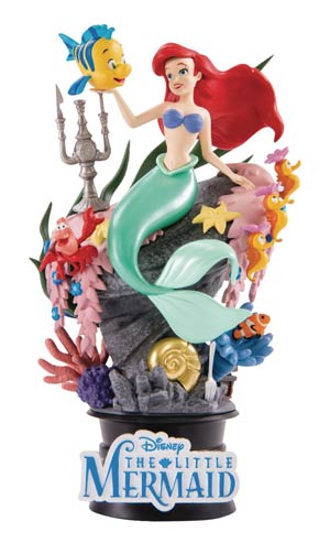 Little Mermaid DS-012 Dream-Select Series Previews Exclusive 6-Inch Statue