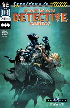 Detective Comics Vol 2 #994 Cover A Regular Doug Mahnke & Jaime Mendoza Cover