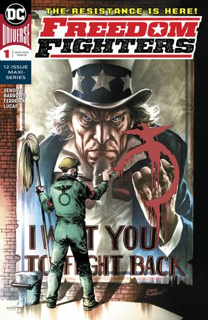 Freedom Fighters Vol 3 #1 Cover A Regular Eddy Barrows Cover