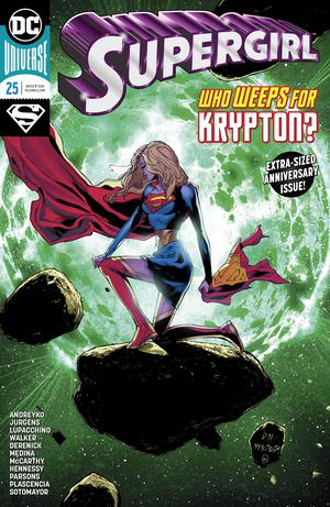 Supergirl Vol 7 #25 Cover A Regular Doug Mahnke & Jaime Mendoza Cover