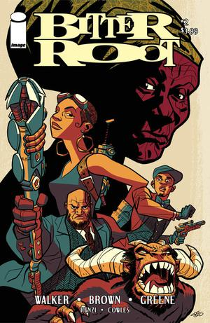 Bitter Root #2 Cover C Variant Michael Cho Cover