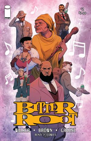 Bitter Root #2 Cover D Variant Ashley Woods Cover