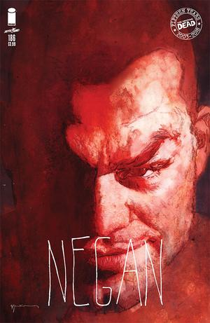 Walking Dead #186 Cover B Variant Bill Sienkiewicz 15th Anniversary Cover