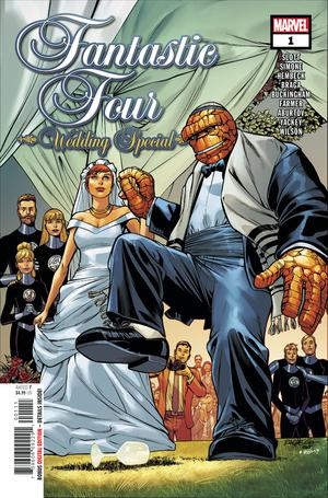 Fantastic Four Wedding Special #1 Cover A Regular Carlos Pacheco Cover