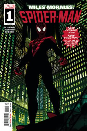 Miles Morales Spider-Man #1 Cover A Regular Brian Stelfreeze Cover (Spider-Geddon Tie-In)