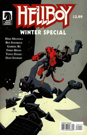 Hellboy Winter Special 2018 Cover A Regular Mike Mignola Cover