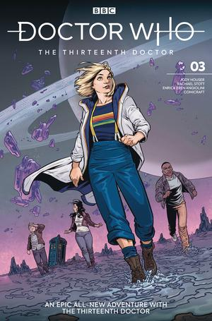 Doctor Who 13th Doctor #3 Cover A Regular Rebekah Isaacs Cover