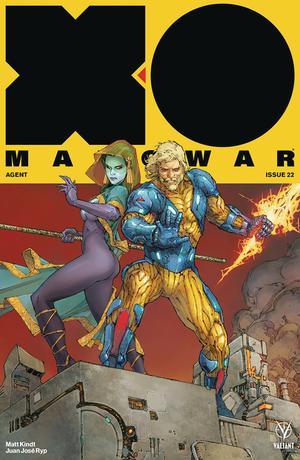 X-O Manowar Vol 4 #22 Cover A Regular Kenneth Rocafort Cover