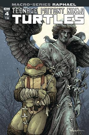 Teenage Mutant Ninja Turtles Macro-Series Raphael Cover A Regular David Petersen Cover