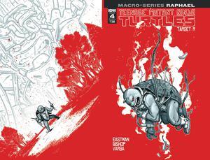 Teenage Mutant Ninja Turtles Macro-Series Raphael Cover B Variant Ben Bishop Cover
