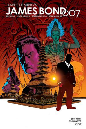 James Bond 007 #2 Cover A Regular Dave Johnson Cover