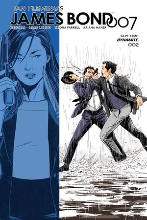 James Bond 007 #2 Cover D Variant Mark Laming Cover