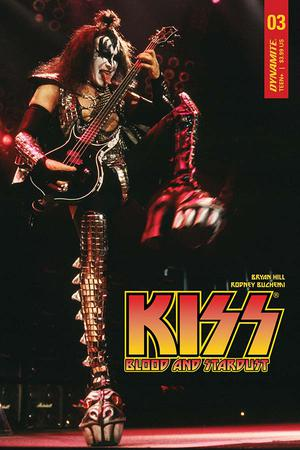 KISS Blood And Stardust #3 Cover D Variant Photo Subscription Cover