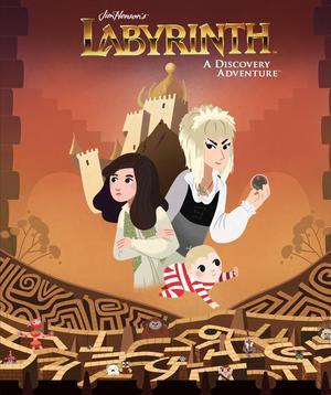 Jim Hensons Labyrinth A Discovery Adventure HC