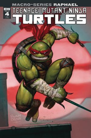 Teenage Mutant Ninja Turtles Macro-Series Raphael Cover C Incentive Ryan Brown Variant Cover