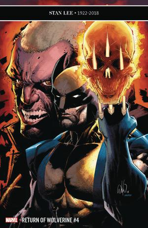 Return Of Wolverine #4 Cover C Incentive Whilce Portacio Variant Cover