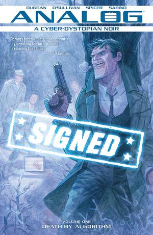 Analog Vol 1 TP Signed By Gerry Duggan & David O Sullivan