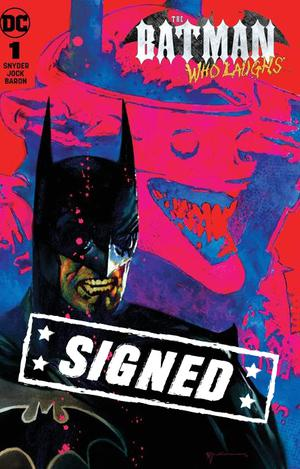 Batman Who Laughs #1  Midtown Exclusive Bill Sienkiewicz Variant Cover Signed By Scott Snyder