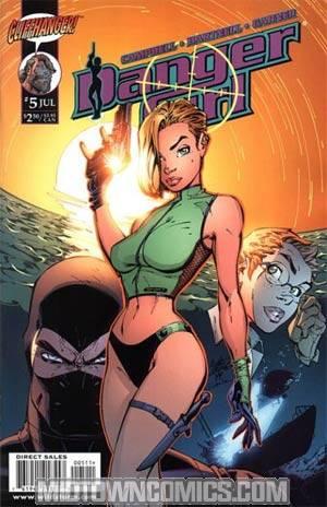 Danger Girl #5 Cover A J Scott Campbell