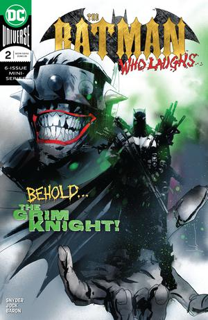 Batman Who Laughs #2 Cover A Regular Jock Cover