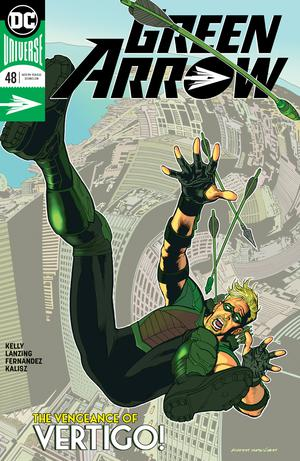 Green Arrow Vol 7 #48 Cover A Regular Kevin Nowlan Cover
