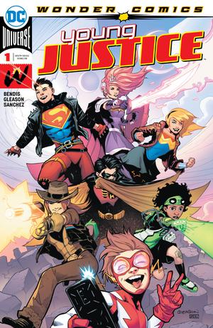 Young Justice Vol 3 #1 Cover A 1st Ptg Regular Patrick Gleason Color Cover