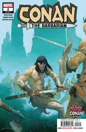 Conan The Barbarian Vol 4 #2 Cover A Regular Esad Ribic Cover