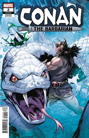 Conan The Barbarian Vol 4 #2 Cover B Variant Emanuela Lupacchino Cover