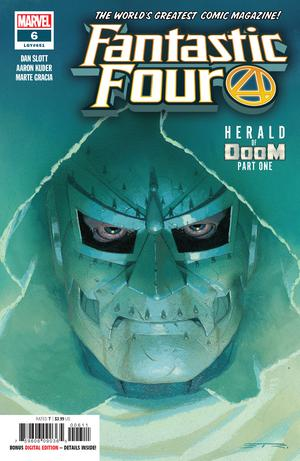 Fantastic Four Vol 6 #6 Cover A Regular Esad Ribic Cover