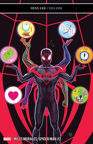 Miles Morales Spider-Man #2 Cover A 1st Ptg Regular Marco DAlfonso Cover